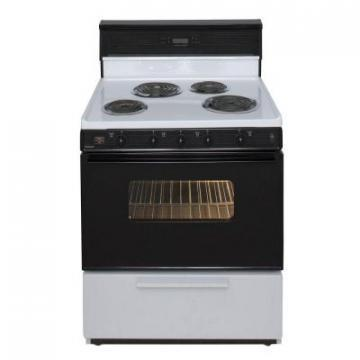 "Premier EDK340WP 30"" Electric Range White"