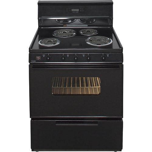 "Premier EDK340BP 30"" Electric Range Black"