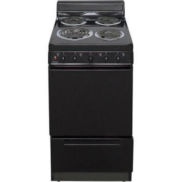 "Premier EAK100BP 20"" Electric Range Black"