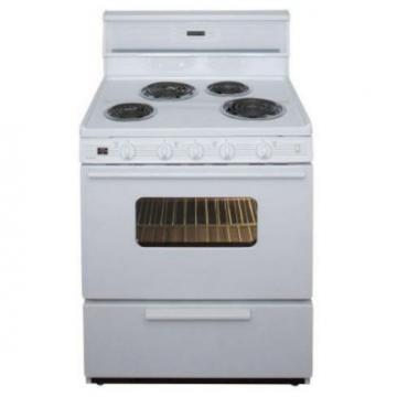 "Premier EDK240OP 30"" Electric Range White"