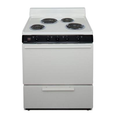 "Premier EDK100TP 30"" Electric Range Bisque"