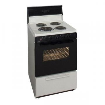 "Premier ECK340TP 24"" Electric Range Bisque"