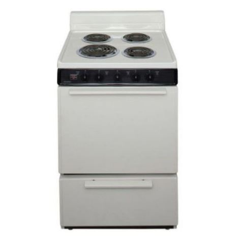 "Premier ECK100TP 24"" Electric Range Bisque"