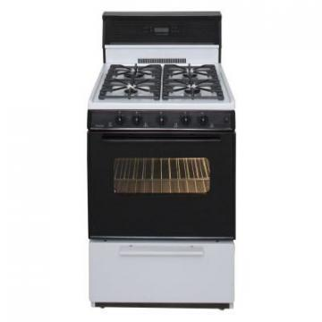 "Premier SJK340WP 24"" Electronic Ignition Gas Range"