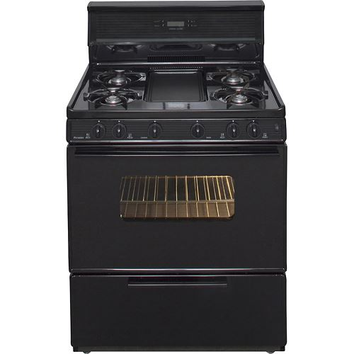 "Premier SFK349BP 30"" Electronic Ignition Gas Range"