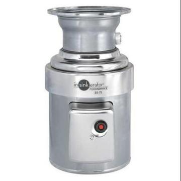 InSinkErator 3/4 HP Commercial Disposer 1 Phase 115/208/230V