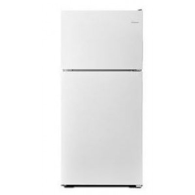 Amana ART308FFDW 18 Cubic Feet Top-Mount Refrigerator