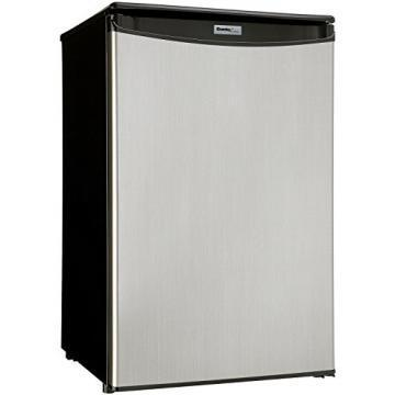 Danby DAR044A5BSLDD 4.4 Cubic Feet All Refrigerator Stainless Steel Door