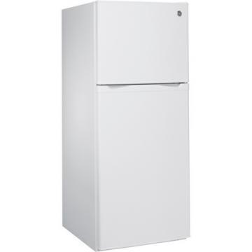 GE GPS12FGHWW 12.0 Cu Ft Top-Mount Refrigerator