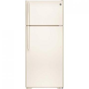 GE GTE18GTHCC 18 Cu Foot Top-Mount Refrigerator