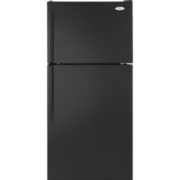 Whirlpool W8TXNWFBB 18 Cubic Feet Refrigerator Right Hand Black 28""