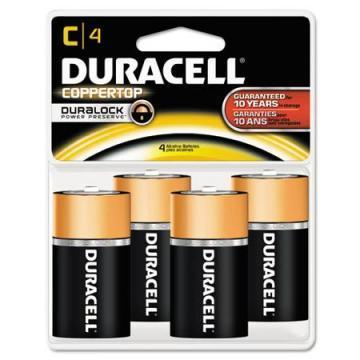Duracell C Coppertop Alkaline Battery 4pk