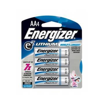 Energizer AA Lithium Battery 4 Per Package