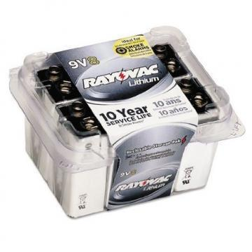 Rayovac 9V Ultra Pro Lithium Battery 8 Per Package