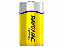Rayovac D Carbon Zinc Battery 6 Per Package
