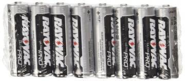 Rayovac AA Carbon Zinc Battery 8 Per Package
