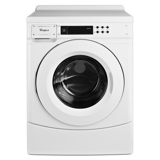 Whirlpool CHW9060AW Commercial Front Load OPL Washer