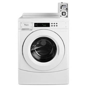 Whirlpool CHW9050AW Commercial Front Load Coin-Operated Washer