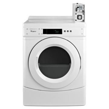 Whirlpool CGD9050AW Commercial Coin-Operated Gas Dryer