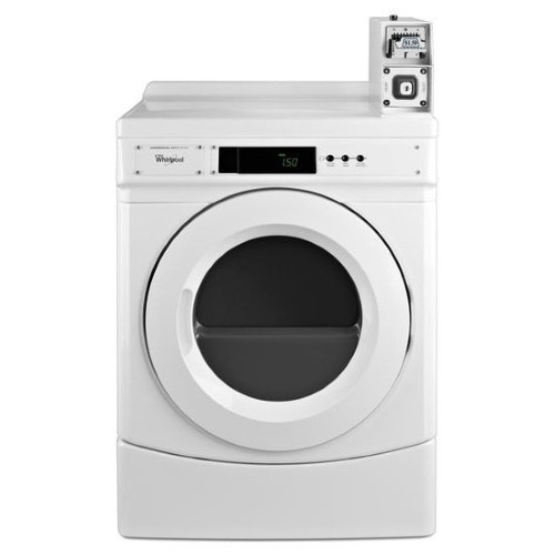 Whirlpool CED9050AW Commercial Coin-Operated Electric Dryer