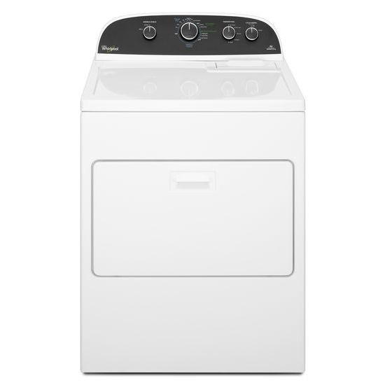Whirlpool WGD4850BW 7.0 Cubic Feet Gas Dryer 13 Cycle