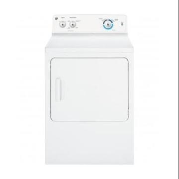 GE GTX18ESSJWW Extra Large Capacity Dryer 6.0 Cu Ft Capacity 6 Cycles