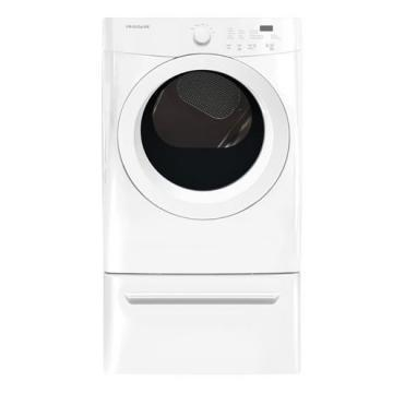 Frigidaire FFQE5000QW 27 Front Load Electric Dryer
