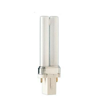 Philips Compact Fluorescent Bulb 5W Twin 4100K 2-Pin Base