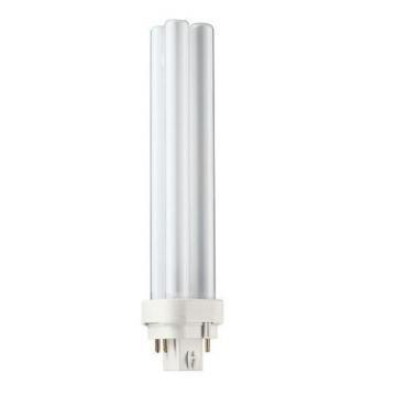 Philips Compact Fluorescent Bulb 21W Quad 3500K 4-Pin Base