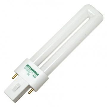Sylvania Compact Fluorescent Bulb 7W Twin 4100K 2-Pin Base