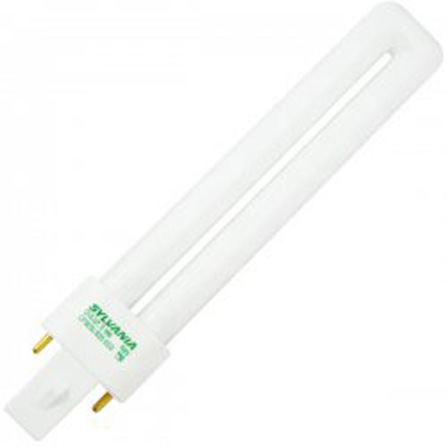 Sylvania Compact Fluorescent Bulb 9W Twin 3500K 2-Pin Base