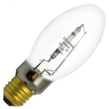Sylvania High Pressure Sodium Bulb 50W Medium Base Clear