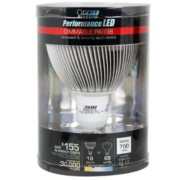 Feit LED Bulb 20W PAR 38 90W Equivalent 3000K Dimmable