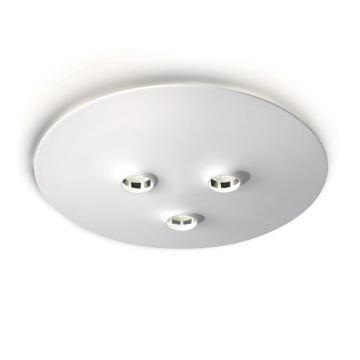 Philips Stella 3-Light Ceiling Lamp In White Finish