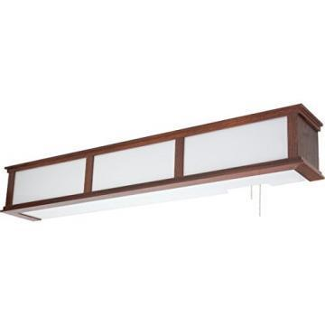 "AFX Lighting 40"" Three-Light 75 Watt T8 Overbed Fixture"