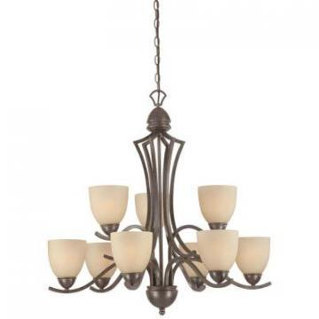 Thomas Lighting SL808322 Nine-Light Chandelier