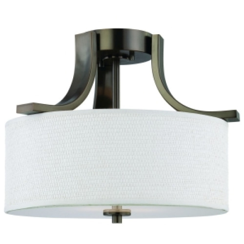 Thomas Lighting SL860915 15 Semi-Flush Fixture - Oiled Bronze