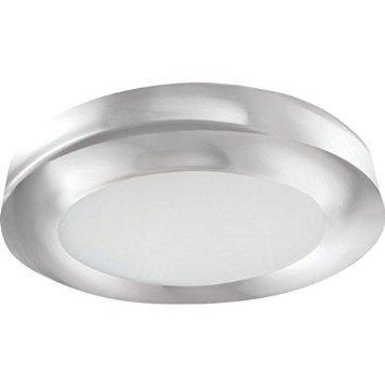 "Feit LED 15"" Edge-Lit Ceiling Fixture, 24 Watt, Brushed Nickel, Low 1"" Profile"
