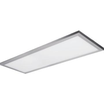 "Feit LED 4' Edge-Lit Ceiling Fixture, 48 Watt, Brushed Nickel, Low 1"" Profile"