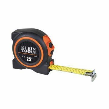 Klein 25' Magnetic Double Hook Tape Measure