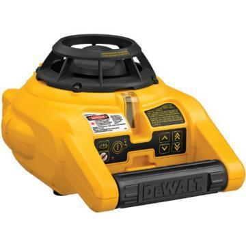 DeWalt Self-Leveling Rotary Laser Kit With Range To 600 Feet