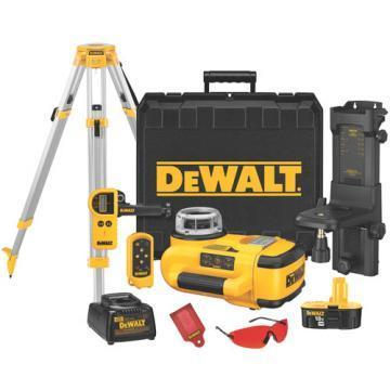 DeWalt 18V Self Leveling Interior Rotary Laser With Laser Detector And Tripod