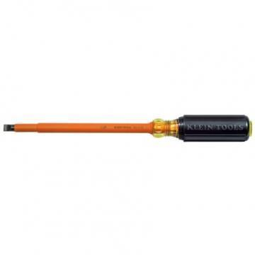 Klein Insulated 3/16'' Cabinet-Tip Screwdriver