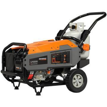Generac LP5500 5,500 Watt Portable LP Generator
