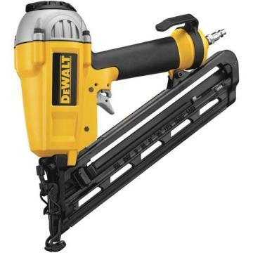 "DeWalt 1 - 2-1/2"" 15 Gauge Finish Nailer"