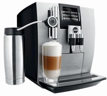 Jura J500 Carbon Silver coffee machine