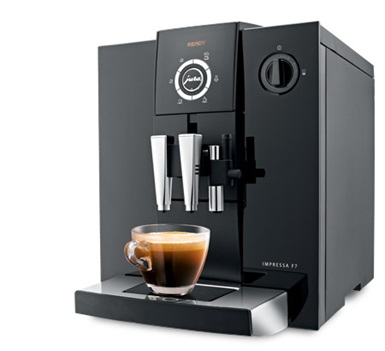 Jura IMPRESSA F7 Piano Black coffee machine