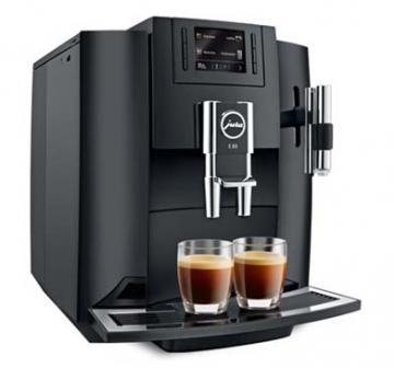 Jura E80 Piano Black coffee machine