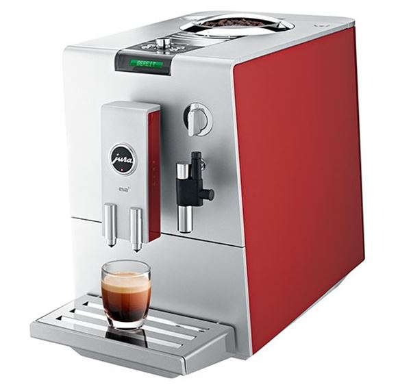 Jura ENA 7 Red coffee machine