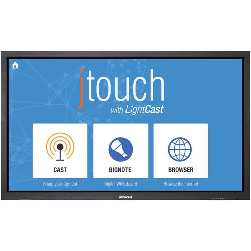 "InFocus JTouch 65"" Interactive Whiteboard with LightCast"
